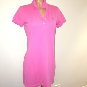 Lacoste Dress Pink Size 38